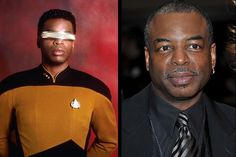 The Cast Of Star Trek Then & Now                       Geordi La Forge – LeVar Burton                         LeVar Burton, who played Geordi La Forge in the series, is now not only an actor, but also a director and author.
