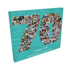 off to print! with 125 photos! 70th Birthday Decorations, 70th Birthday Gifts, Anniversary Gifts For Wife, Anniversary Photos, Engagement Pictures, Wedding Pictures, Focus Images, Grandma Gifts, Happy Mothers