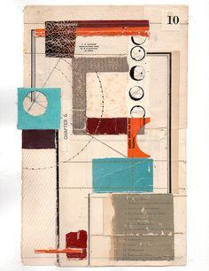 161120: Cabernet book collage on paper melindatidwell.com