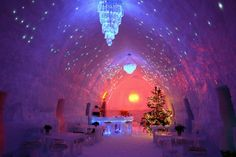 The Ice Hotel Romania