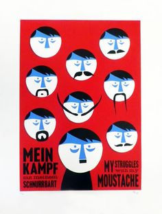 Mein Kampf (Silkscreen Signed Limited Edition of 50) by Tom Camp