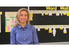 Great tips for teachers and parents on how to teach the alphabet