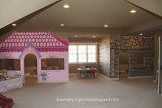 Como me gustaría tener este espacio para mis hijos!