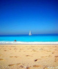 Λευκαδα!!! Wow! Gorgeous Lefkada beach...