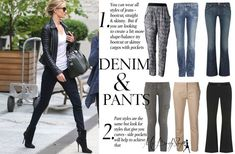 tops and pants for an inverted triangle body shape