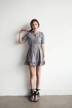 Cute Cut Shoulder Dress