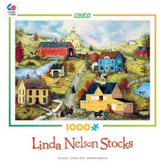 Bridge Country Store Lane - 1000 Piece Jigsaw Puzzle