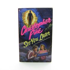 See You Later Book by Christopher Pike Vintage 1990 Teen Psychological Thriller Books For Teens, Latest Books, 90s Kids, Make Arrangements, See You, Handmade Shop, Vintage Shops, Thriller, The Book