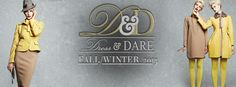 Fall/Winter 2013 is here! Check out our Pinboard for more...Also visit us at www.dressanddare.co.za