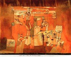 Image: Paul Klee - Plan einer Maschinenanlage,