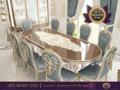 The special forms and color emphasize the royal majesty of the furniture!Modern dining table,premium high quality chairs are a symbol of luxury and prestige!We offer a variety of furniture sets that suit any taste! http://www.antonovich-design.ae/ Call us +971 50 607 2332 #antonovichdesign, #furnituredubai, #furnitureabudhabi, #furniturestyle, #interiordesign