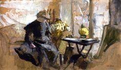 Corner of the Studio / Edouard Vuillard - circa 1903
