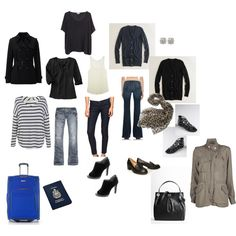 Packing for a Long Weekend Trip! Lots of layering pieces and sandals in the off chance the weather is awesome...