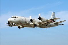 Lockheed P-3C Orion maritime patrol aircraft.