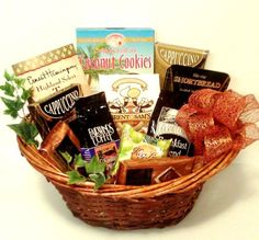 The Ultimate Treat 335 Baskets on the Run Shortbread, Gift Baskets, Treats, Cookies, Sweet, Gifts, Amazon, Gourmet, Sympathy Gift Baskets