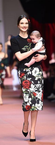 Dolce & Gabbana Fall 2015 Runway Show #MFW #FashionWeek