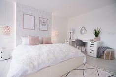 Our master bedroom! - Milababychou, Our master bedroom! Design Room, House Design, Interior Design, Bedroom Inspo, Bedroom Decor, Girls Bedroom, Master Bedroom, Room Tour, New Room