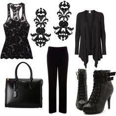 Office goth corporate goth gothic fashion, fashion outfits и Grunge Goth, Dark Fashion, Gothic Fashion, Visual Kei, Corporate Goth, Harajuku, Goth Look, Estilo Rock, Gothic Outfits