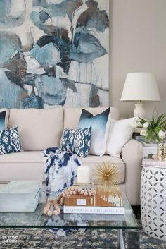 Remodelando la Casa: Gorgeous Blue Spring Home Decor Ideas...