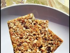 simple granola bar recipe | chewy granola bar recipe | low calorie granola bar recipe    https://www.youtube.com/watch?v=4S2jMIL4h7k&feature=youtu.be