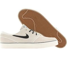 Nike Men Zoom Stefan Janoski SB (sail / black) Shoes 333824-103 | PickYourShoes.com ($79.00) - Svpply