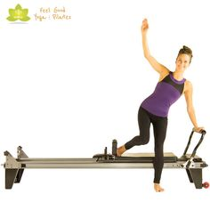 scooter pilates reformer exercise variation 3