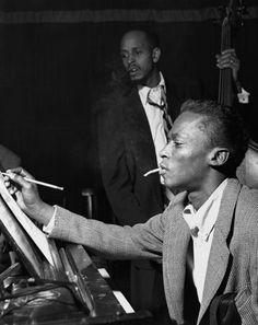 Birth of the Cool: 20 Black Style Pioneers: Style: GQMiles Davis 1926-1991 Trumpeter, composer Left: April 20, 1953, New York