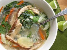 Sotanghon - Filipino Chicken Soup