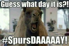 #SpursDAAAAAAAAY its always a spurs day in san antoo
