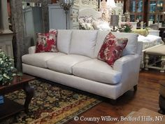 White Leather Sofa Country Willow Furniture Leather Sofa White Leather Sofas Willow Furniture