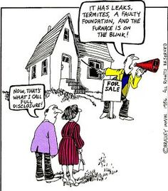 If only ALL sellers were this truthful! #SellerDisclosure #RealEstate #HomeBuying #HomeSelling #HomeInspections