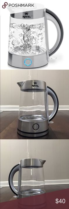 Royal Cordless Electric Kettle☕️ Brand New ! royal Other