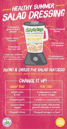 How do you dress your salad? #summer #salad #recipe