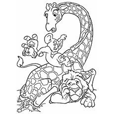 animal cartoon coloring pages coloring pages for kids coloring kids coloring pages. Black Bedroom Furniture Sets. Home Design Ideas
