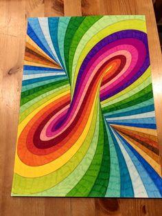 Art Drawings For Kids, Pencil Art Drawings, Cool Drawings, Art Drawings Sketches, Arte Sharpie, Dibujos Zentangle Art, Doodle Art Designs, Rainbow Art, Mandala Art