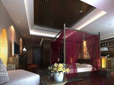 Beautiful Asian Bedroom Interior Idea