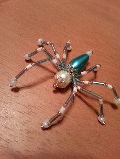 Long blue spider. Stefani S.