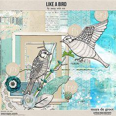 <p> Like a Bird by Maya de Groot</p>