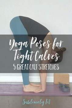 Best Yoga Poses for Calves Need some good calf stretches for tight muscles? These yoga poses will help. You'll even find a quick video to lead you through them!Need some good calf stretches for tight muscles? These yoga poses will help. Yoga Meditation, Yoga Flow, Kundalini Yoga, Yoga Inspiration, Best Calf Stretches, Calve Stretches, Muscle Stretches, Yoga Nature, Yoga For Runners