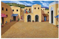 ancient biblical city scene - Google Search