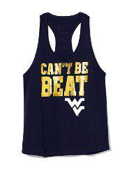 West Virginia University Campus Pants, Hoodies, Shorts, Hats & Tees at VS PINK