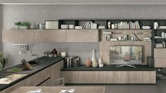 Cucine moderne in legno 2017 - Cucina in legno Lube