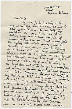 f. scott fitzgerald's handwriting.....and written on my birthday, 64 years before i was born!