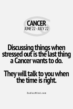 This is soooooooo true for me, unless you have the answer to my problem, don't say anything to me until I'm ready to talk it out.