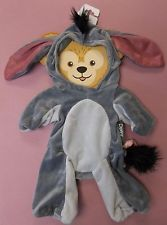NEW Disney Parks Winnie the Pooh's EEYORE Duffy Bear Costume Outfit