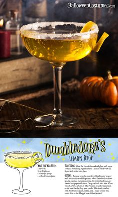 These Harry Potter cocktail recipes are so much better than Butterbeer Diese Harry-Potter-Cocktail-Rezepte sind viel besser als Butterbier Harry Potter Cocktails, Harry Potter Food, Harry Potter Theme, Harry Potter Adult Party, Harry Potter Desserts, Fun Drinks, Yummy Drinks, Alcoholic Drinks, Beverages