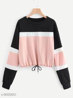 Sweatshirts  Tshirts Fabric: Cotton Sleeve Length: Long Sleeves Pattern: Printed Multipack: 1 Sizes: S XL L M Country of Origin: India Sizes Available: S, M, L, XL   Catalog Rating: ★4 (8234)  Catalog Name: Urbane Ravishing Women sweatshirts CatalogID_1552808 C79-SC1028 Code: 143-9000501-309