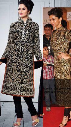 RB11346 Charismatic Black Designer Salwar Kameez - IndiaBazaarOnline Shopping Store - Shop with confidence