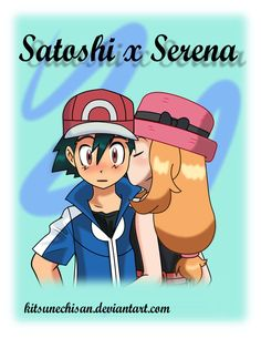 After watching Pokemon X and Y, I started fangirling over Ash/Satoshi and Serena. Amourshipping: Kiss on the Cheek Pokemon Ships, Pokemon Fan, Ash Pokemon, Pokemon Ash And Serena, Ashes Love, Pokemon Movies, Micro Lego, First Pokemon, Gym Leaders
