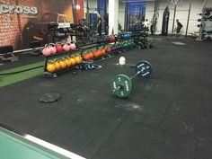 Ideelle til stød-, støj- og vibrationsdæmpning i forbindelse med fitness, crossfit og frivægtstræning.